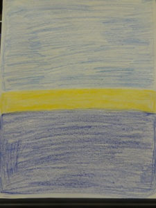My imitation of Rothko